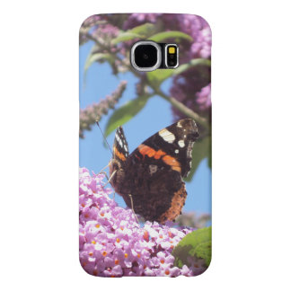 Red Admiral Butterfly Samsung Galaxy S6 Cases