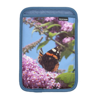 Red Admiral Butterfly Sleeve For iPad Mini