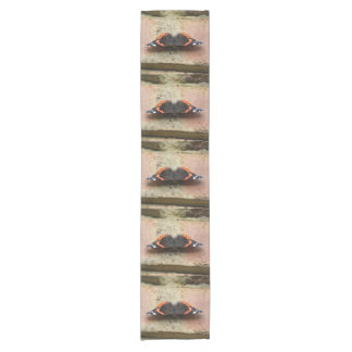 Red Admiral Butterfly Table Runner