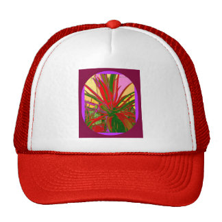 Red Agave Southwest Desert Design Gifts by Sharles Cap