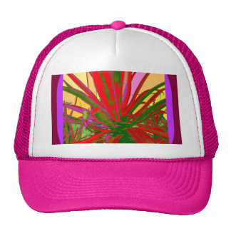 Red Agave Southwest Desert Design Gifts by Sharles Cap