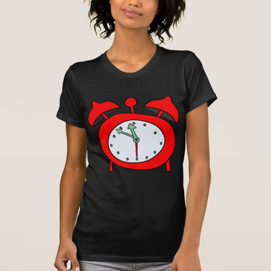 red alarmclock T-Shirt