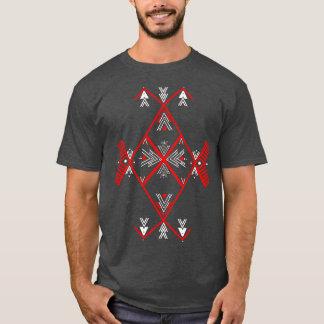Red Amazigh design T Shirt Men