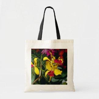 Red Amberworth (Laeliocattelaya) flowers Tote Bag