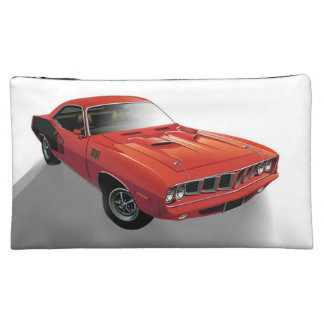 Red American muscle car Cosmetic Bag