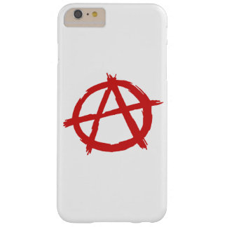 Red Anarchist A Symbol Anarchy Logo Barely There iPhone 6 Plus Case