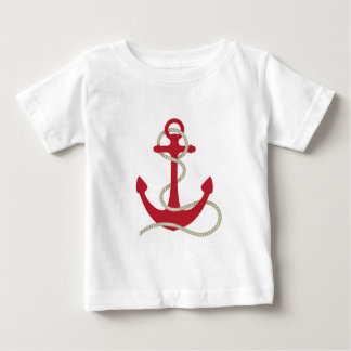 Red Anchor Baby T-Shirt