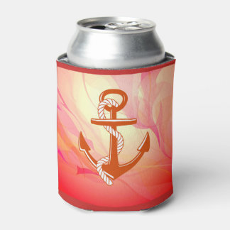 Red Anchor Can Cooler