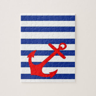 Red Anchor Jigsaw Puzzle