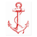 Red Anchor Postcard