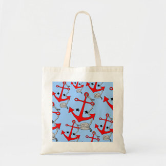 Red Anchors (for  ) Tote Bag