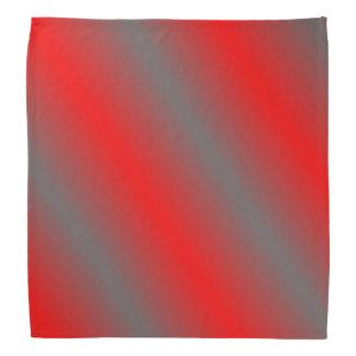 Red and a Gray Bandana