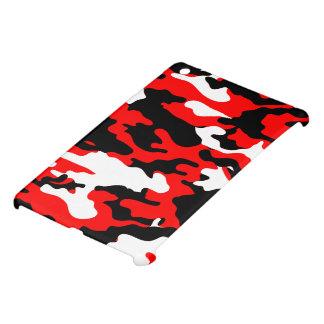 Red and Black Camo iPad Mini Cover