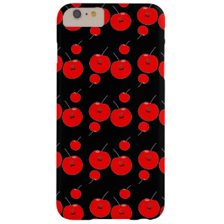 Red And Black Cherry Pattern Barely There iPhone 6 Plus Case
