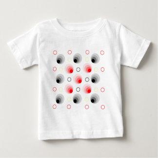 Red and black circles tees