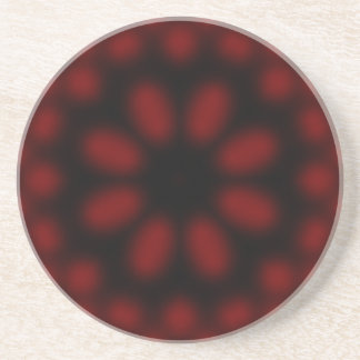 Red and Black Coaster
