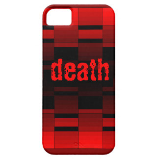 red and black death iphone5 case iPhone 5 cases