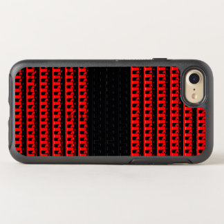 Red and Black Fence OtterBox Symmetry iPhone 7 Case