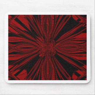 Red and Black Mouse Pad