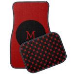 Red And Black Spots Monogrammed Personalised