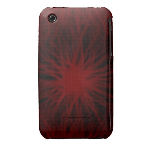 Red and black star iPhone 4/4S Vibe Universal Case iPhone 3 Cases