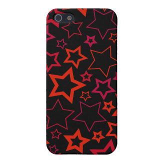 Red and Black Stars iPhone 5/5S Cover