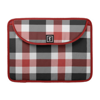 Red And Black Tartan Mac Pro Sleeve MacBook Pro Sleeves