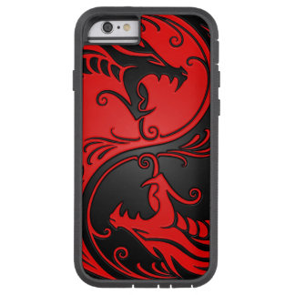 Red and Black Yin Yang Dragons Tough Xtreme iPhone 6 Case