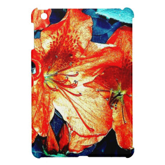 Red and Blue Flowers iPad Mini Case