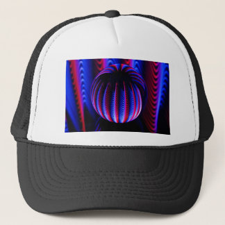 Red and Blue in the ball ball Trucker Hat