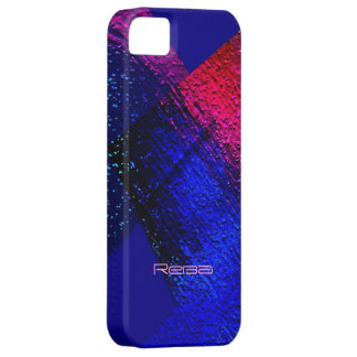 Red and Blue iPhone 5 cover for Reba