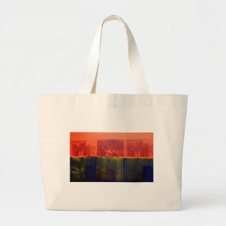 Red and Blue Jumbo Tote Bag
