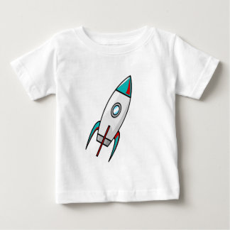 Red and Blue Rockets Baby T-Shirt