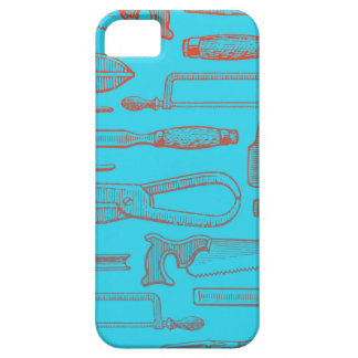 Red and Blue Tools Case For The iPhone 5