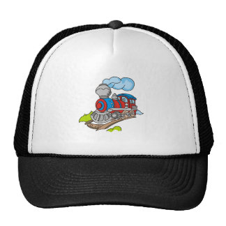 Red and Blue Train Cap