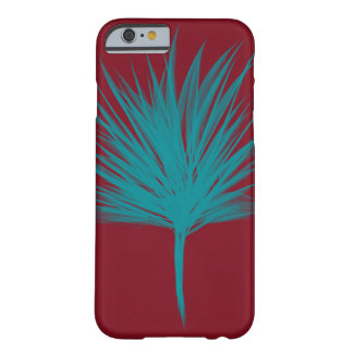 Red and blue tree barely there iPhone 6 case