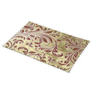 Red and Gold Foliage Individual Placemats/