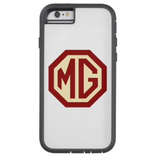 Red and Gold MG Logo Tough Xtreme iPhone 6 Case