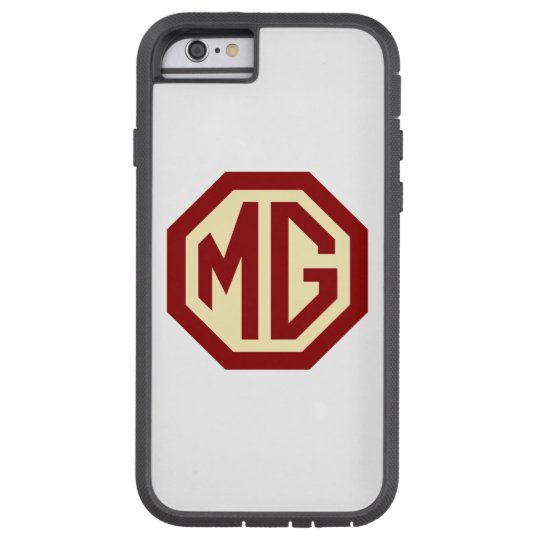 Red and Gold MG Logo Tough Xtreme iPhone