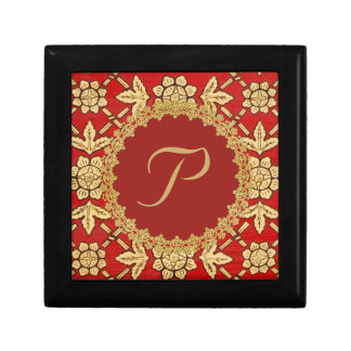 Red and Gold Ornate Gift Box