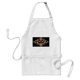 red and gold stars.jpg standard apron
