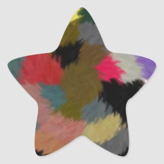 red and gold stars target 2.jpg star sticker