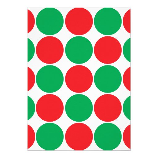 Red And Green Polka Dot Patterns