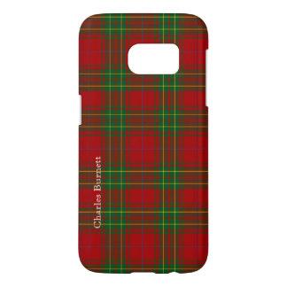 Red and Green Burnett Tartan Plaid Samsung S7 Case