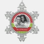 Red and Green Christmas Custom Photo
