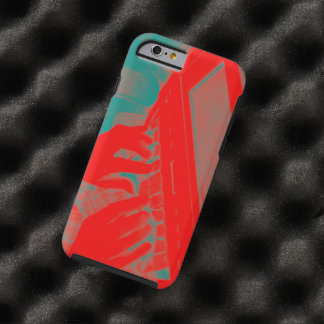 Red and Green Court Reporter Steno Machine Tough iPhone 6 Case