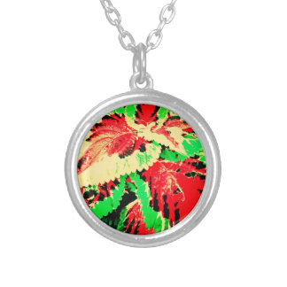 Red And Green Fern Jewelry