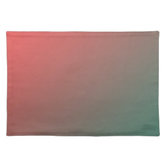 Red and Green Gradient Placemat