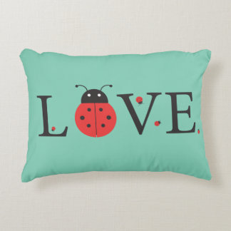 Red and Green 'Love' Ladybugs