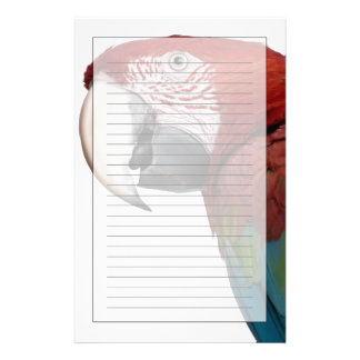 Red-and-green Macaw - Ara chloropterus Stationery